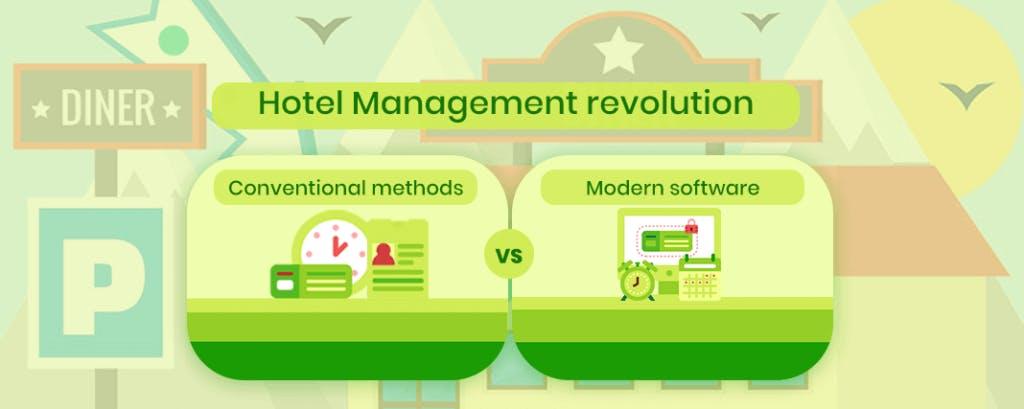 Hotel Industry Revolution: Conventional vs. Modern Hotel Software